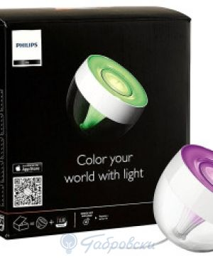 Настолна лампа Philips HUE COL IRIS clear