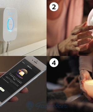 Портативна лампа Philips HUE GO white